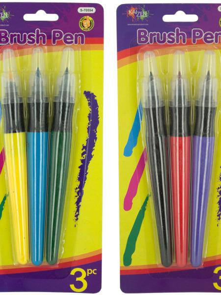 Paint Brush Colored Marker Set (Available in a pack of 24)