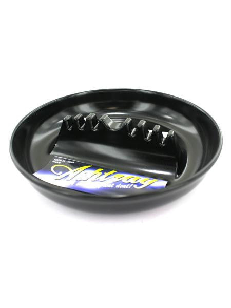 Large Plastic Ashtray (Available in a pack of 30)