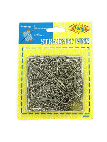 Sewing Straight Pins (Available in a pack of 24)