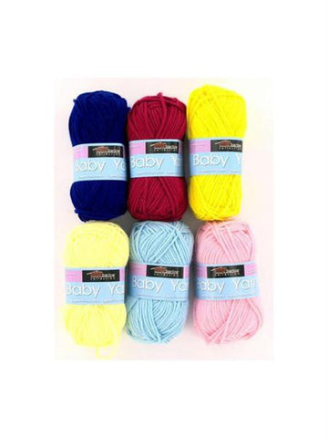 Acrylic Baby Yarn (Available in a pack of 24)