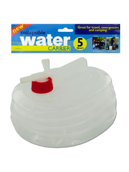 Collapsible Water Carrier (Available in a pack of 6)