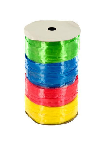 Colored Raffia Ribbon Set on Spool (Available in a pack of 18)