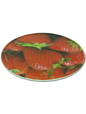 Round Trivet with Strawberry Design (Available in a pack of 12)