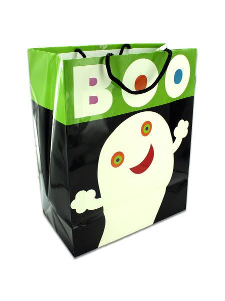"""Boo!"" glow in the dark gift bag (Available in a pack of 18)"