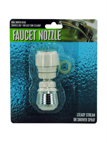 Dual Jointed Faucet Nozzle (Available in a pack of 12)