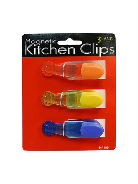 Magnetic Kitchen Clips (Available in a pack of 12)