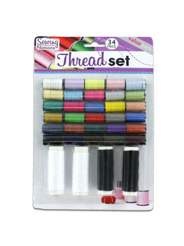 Sewing Thread Set (Available in a pack of 24)