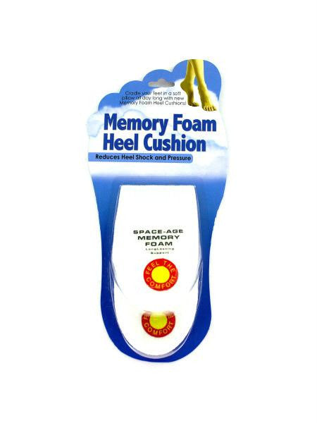 Memory Foam Heel Cushions (Available in a pack of 24)