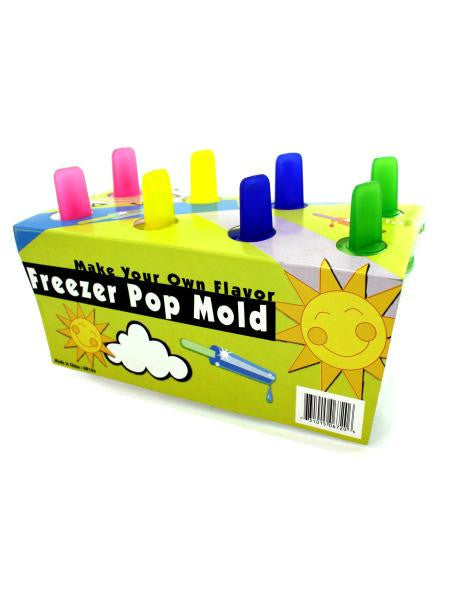 Freezer Pop Mold (Available in a pack of 12)