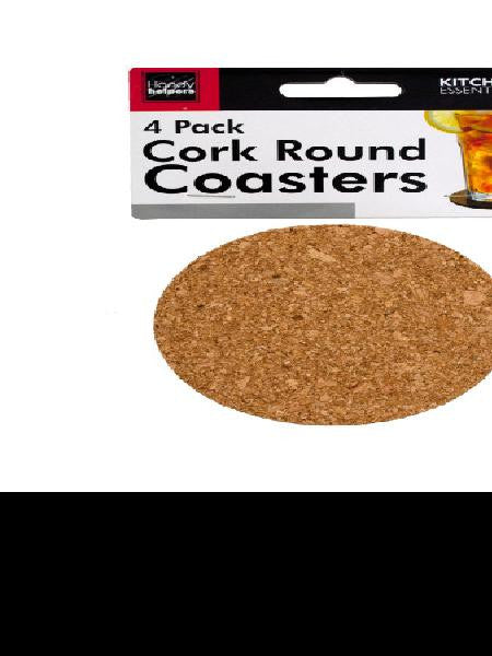 Round Cork Coasters (Available in a pack of 24)