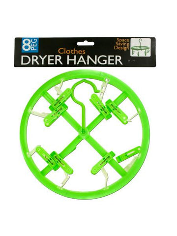 8-Clip Clothing Dryer Hanger (Available in a pack of 24)