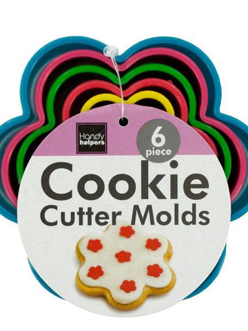 Flower Shape Cookie Cutter Molds Set (Available in a pack of 24)