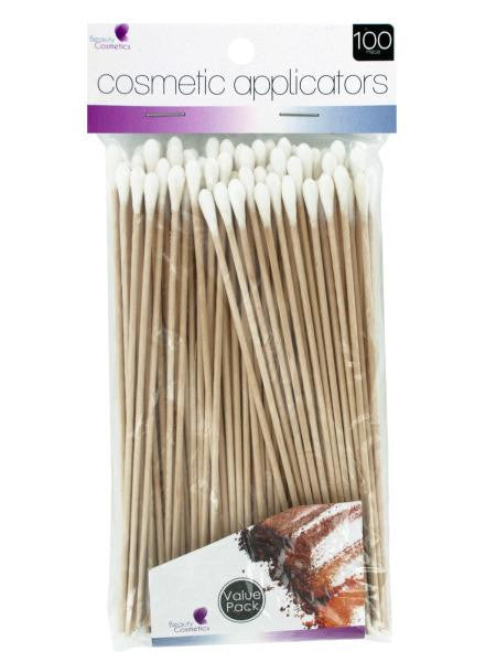 Cotton Tip Cosmetic Applicators (Available in a pack of 18)