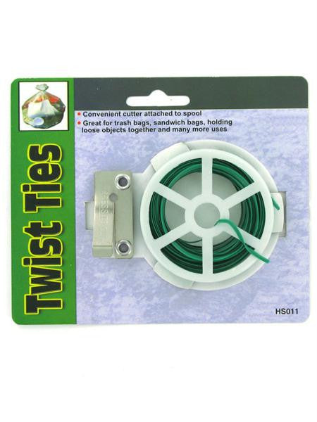 Twist Ties with Reel (Available in a pack of 24)
