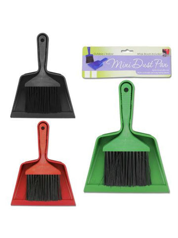 Mini Brush and Dust Pan Set (Available in a pack of 24)