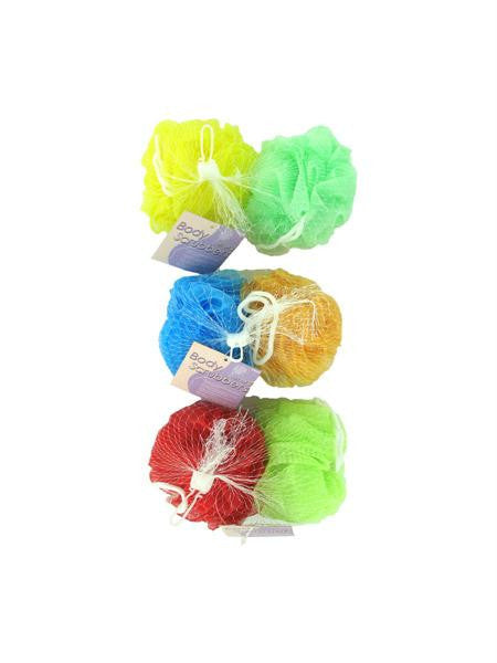 Mesh Body Scrubbers (Available in a pack of 24)