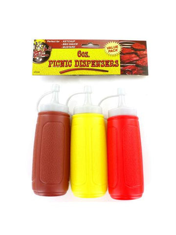 Picnic Condiment Dispensers (Available in a pack of 12)