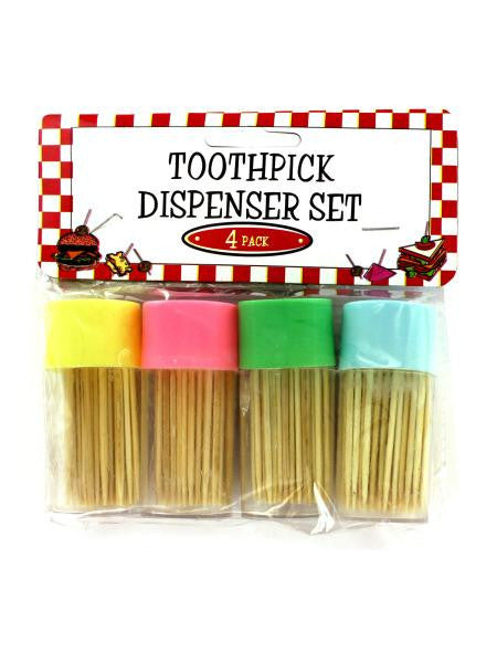 Toothpick Dispenser Set (Available in a pack of 12)
