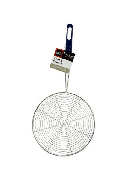 Metal Chef's Strainer (Available in a pack of 10)