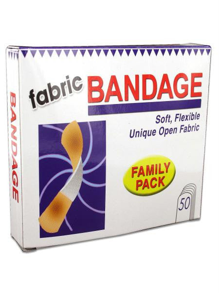 Flexible Fabric Bandages (Available in a pack of 24)