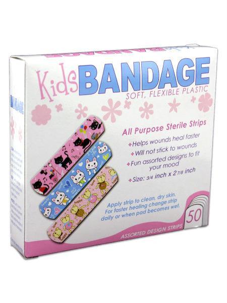 Bandages with Kids Designs (Available in a pack of 24)