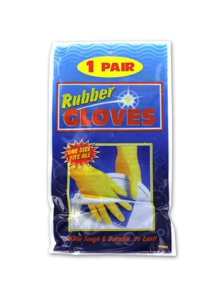Multi-Purpose Rubber Gloves (Available in a pack of 20)