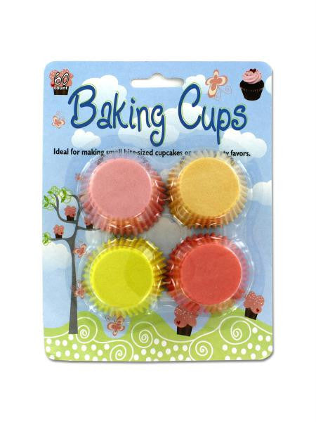 Petite Baking Cups (Available in a pack of 12)