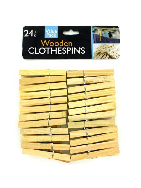 Wooden Clothespins (Available in a pack of 12)