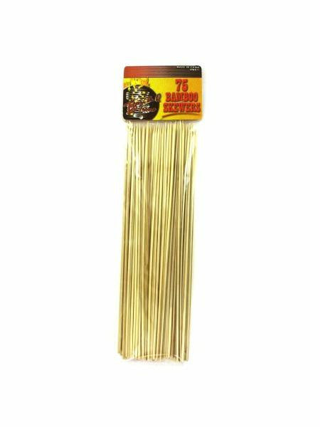 Barbecue Bamboo Skewers (Available in a pack of 12)