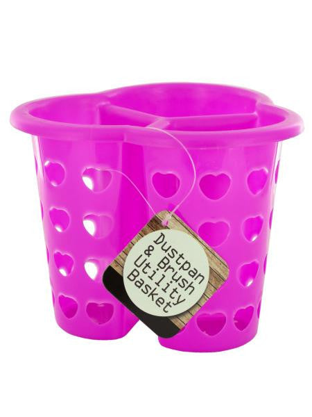 Three-Compartment Heart Design Utility Basket (Available in a pack of 24)