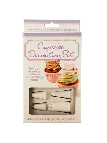 Cupcake Decorating Set (Available in a pack of 6)