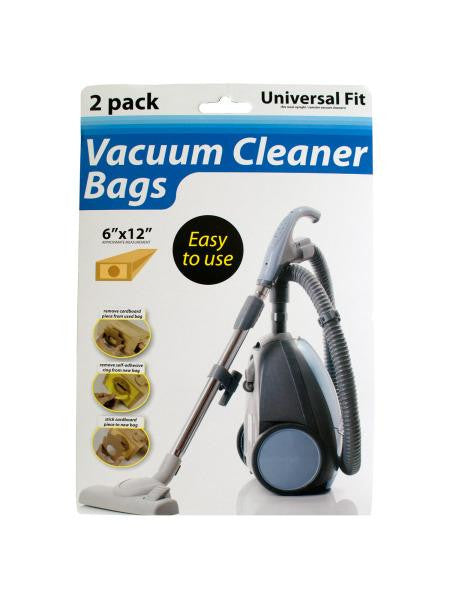Universal Fit Vacuum Cleaner Bags (Available in a pack of 12)