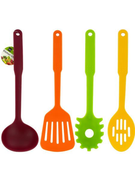 Colored Plastic Kitchen Utensil (Available in a pack of 12)