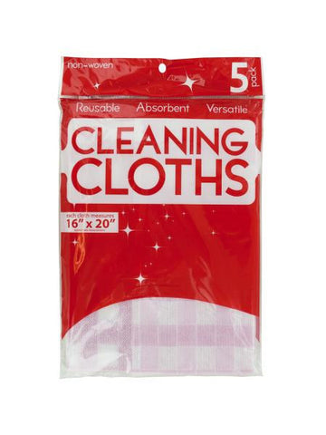 Multi-Purpose Reusable Cleaning Cloths (Available in a pack of 24)