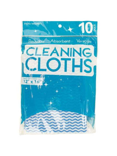 Versatile Reusable Cleaning Cloths (Available in a pack of 24)
