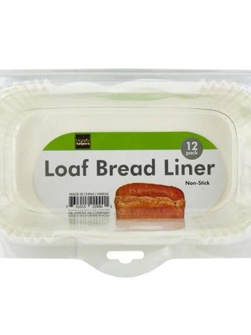 Non-Stick Loaf Bread Baking Liners (Available in a pack of 12)