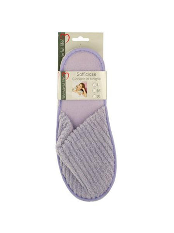 Women's Plush Slippers (Available in a pack of 8)