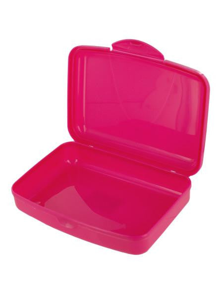 Small Plastic Lunch Box (Available in a pack of 24)