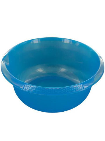 Round Plastic Basin with Pour Spout (Available in a pack of 12)