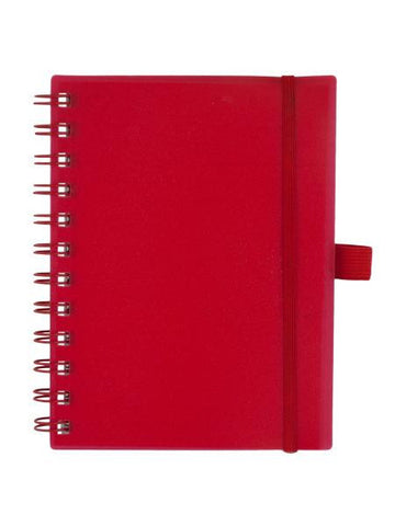 Red Organizer Notebook with Pockets (Available in a pack of 20)