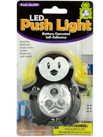 Animal LED Push Light (Available in a pack of 12)