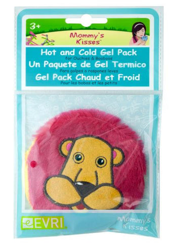 Mommy's Kisses Plush Lion Hot & Cold Gel Pack (Available in a pack of 24)