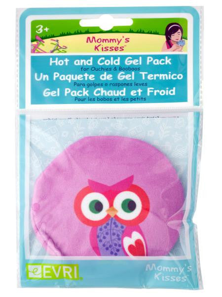 Mommy's Kisses Plush Owl Hot & Cold Gel Pack (Available in a pack of 20)