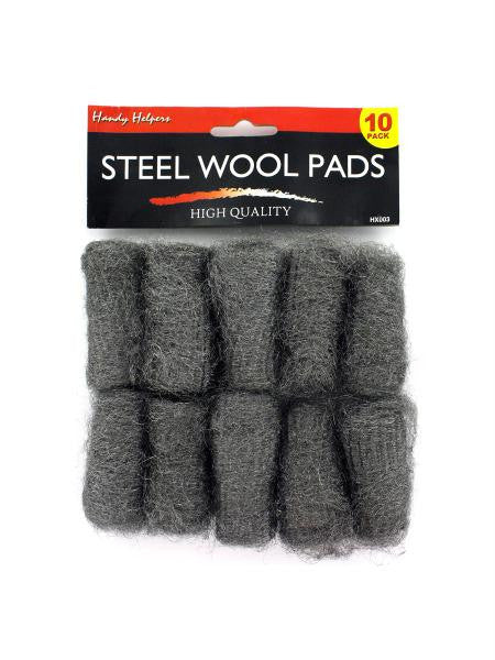 Steel Wool Pads (Available in a pack of 24)