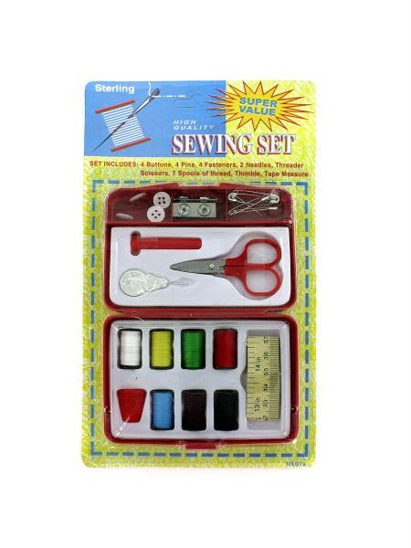 Compact Sewing Kit (Available in a pack of 24)