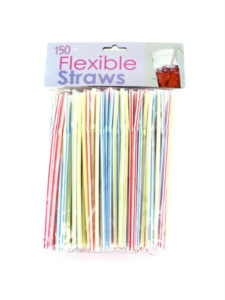 Flexible Straws (Available in a pack of 25)