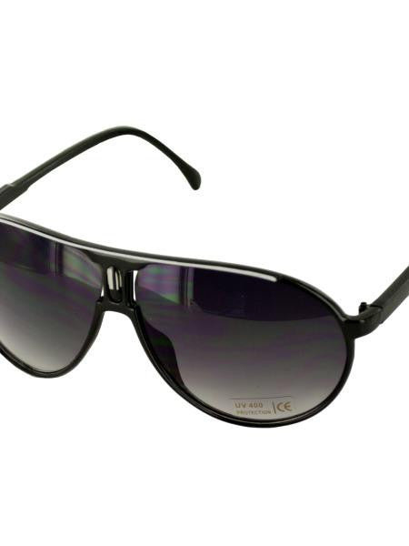 Black Sun Shade Sunglasses (Available in a pack of 24)
