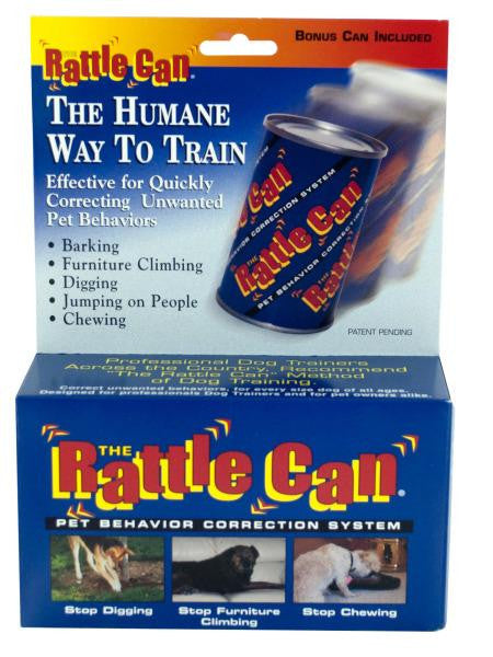 Rattle Can Pet Behavior Correction System (Available in a pack of 24)