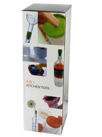 8 in 1 Bottle Shape Kitchen Tool (Available in a pack of 4)
