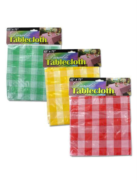 Checkered Picnic Tablecloth (Available in a pack of 24)